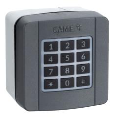 Codetastatur CAME SELT1W4G  (806SL-0170) für Aufputzmontage