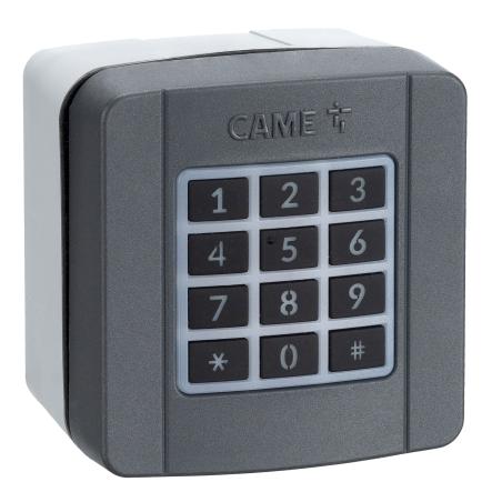 Funk-Codetastatur CAME SELT1W4G  (806SL-0170) Aufputz 433,92 MHz